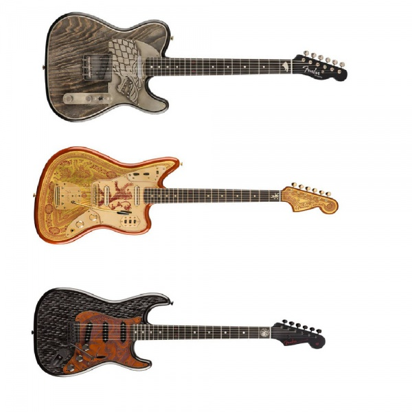 La Fender ha creato una linea per Game Of Thrones
