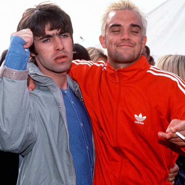 Liam Gallagher, pace fatta con Robbie Williams?