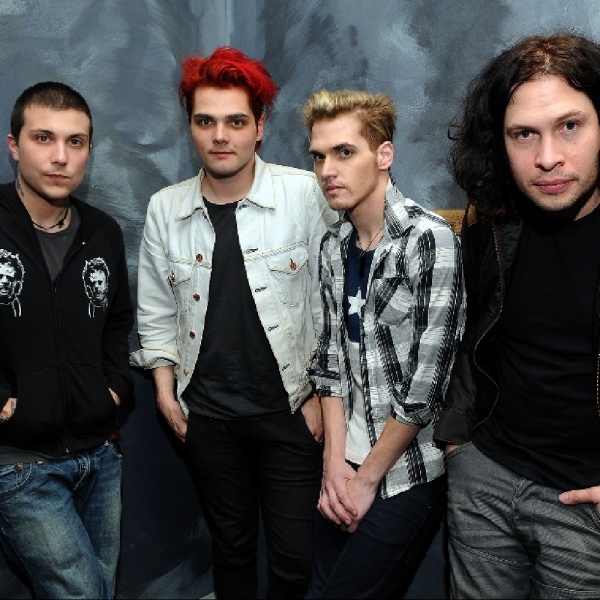 My Chemical Romance, prima data in Europa