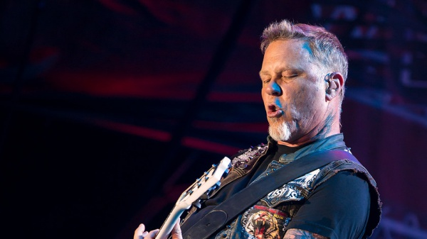 "Metallica, James Hetfield:""La musica mi ha cambiato la vita"""