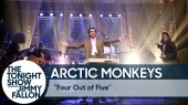 Arctic Monkeys: Four Out of Five @ The Tonight Show Starring Jimmy Fallon