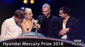 Wolf Alice win the Hyundai Mercury Prize 2018