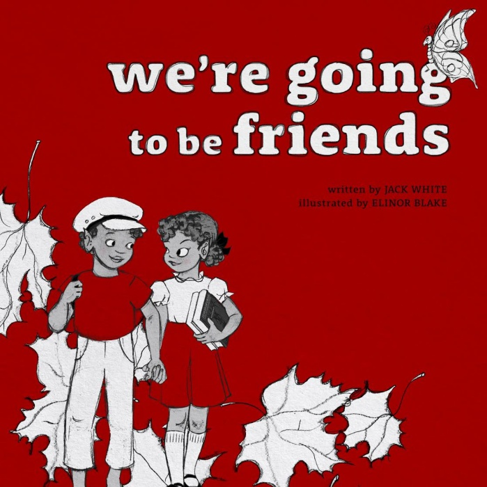 03. Jack White - Libro 'We Are Going To Be Friends'