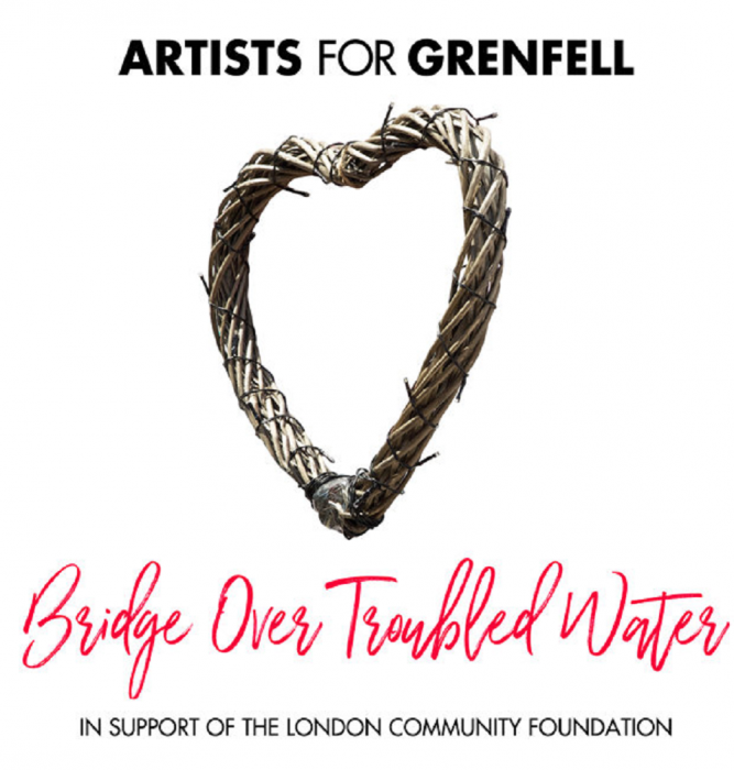 "Artists For Grenfell -""Bridge Over Troubled Water"""