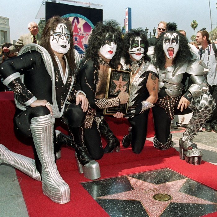 Kiss @ Walk Of Fame ('99)