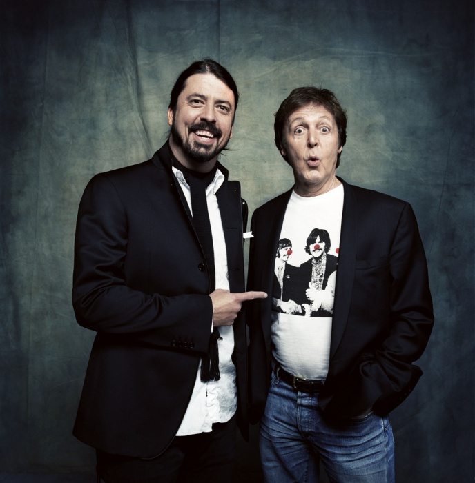 Paul McCartney & Dave Grohl