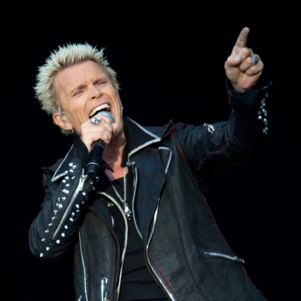 Billy Idol in Italia