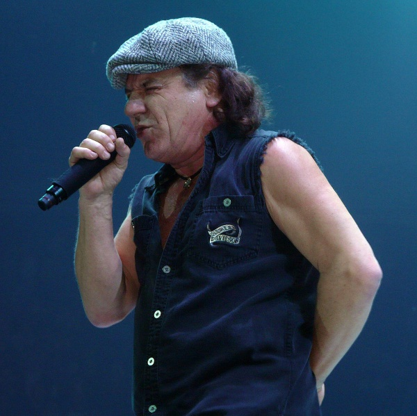 Brian Johnson in studio con Joe Walsh degli Eagles