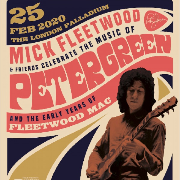Cast stellare per il tributo a Peter Green dei Fleetwood Mac