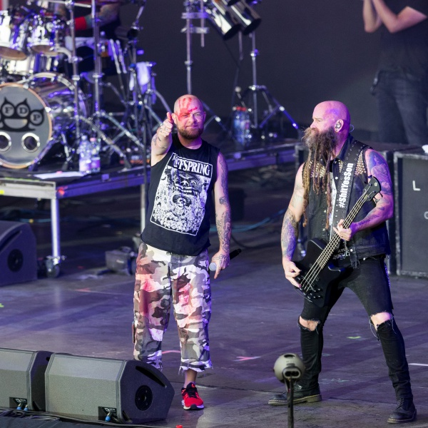 Five Finger Death Punch con Megadeath e Bad Wolves in Italia