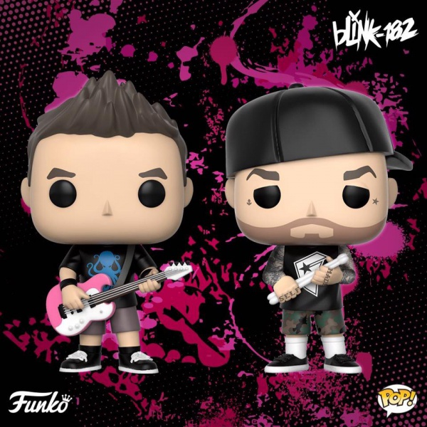 Funko crea le action figures dei Blink-182 (meno due)