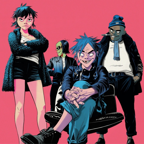 Gorillaz, guarda il video di 'Tranz'