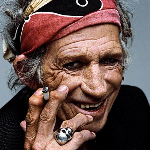 "Keith Richards:""Le droghe? Oggi sono noiose"""