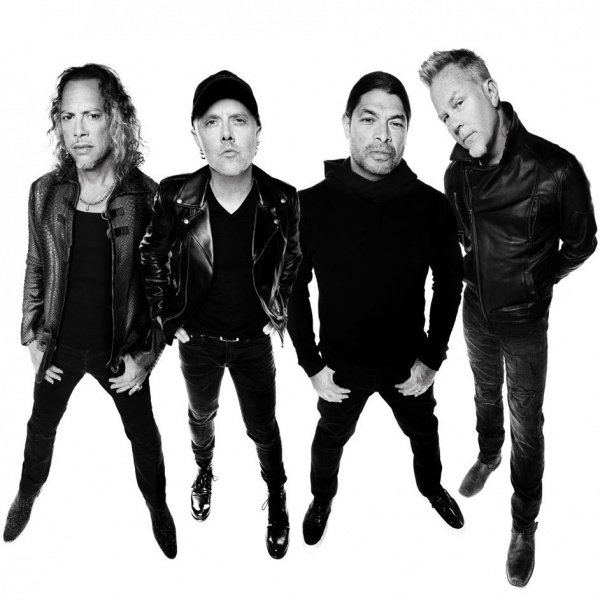 Metallica rock band dell'anno per Nielsen Music