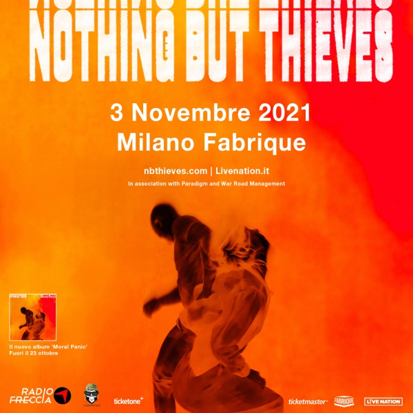 Nothing But Thieves in Italia nel 2021