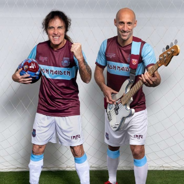 Partnership tra Iron Maiden e West Ham