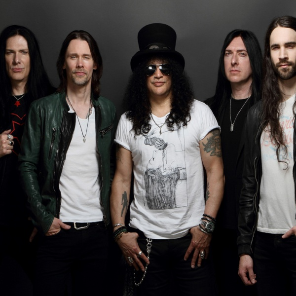Slash,  data in Italia con i Conspirators per il chitarrista dei Guns N'Roses