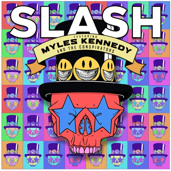 Slash ft.Myles Kennedy & The Conspirators, ascolta 'Driving Rain'