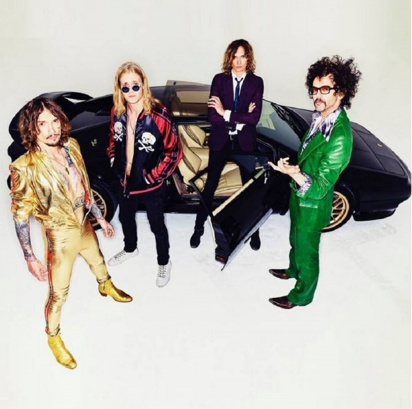The Darkness, live in Italia