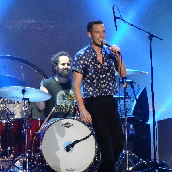 The Killers, 'Caution' in versione casalinga per Kimmel